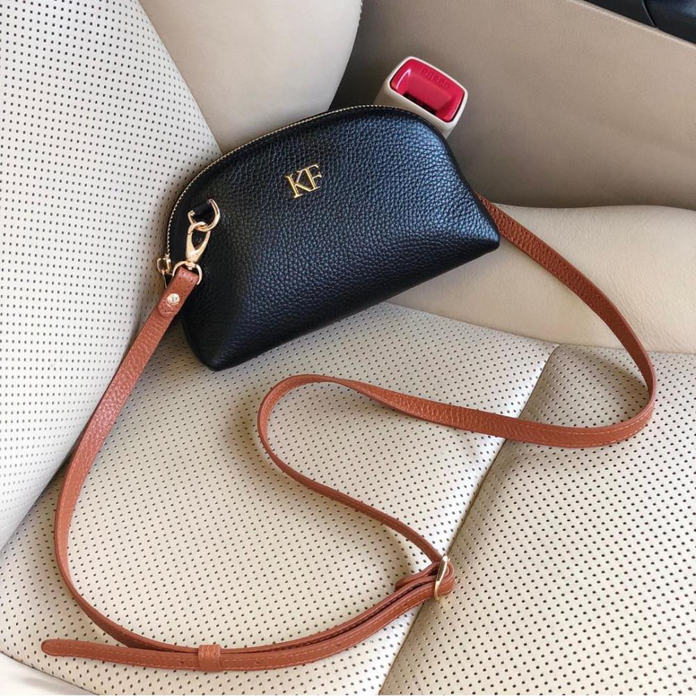 Women's leather mini bag Ksusha KF-3756