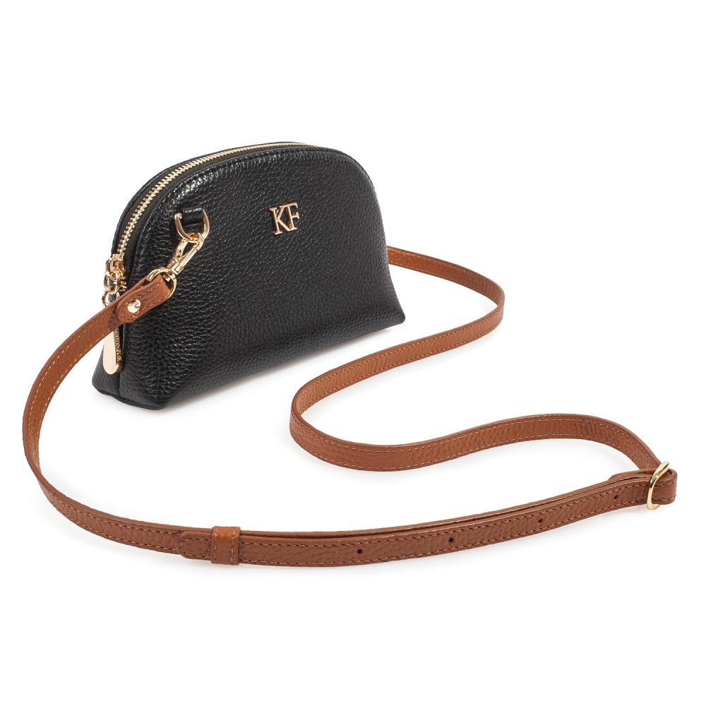 Жіноча шкіряна міні-сумочка Ksusha KF-3756-1