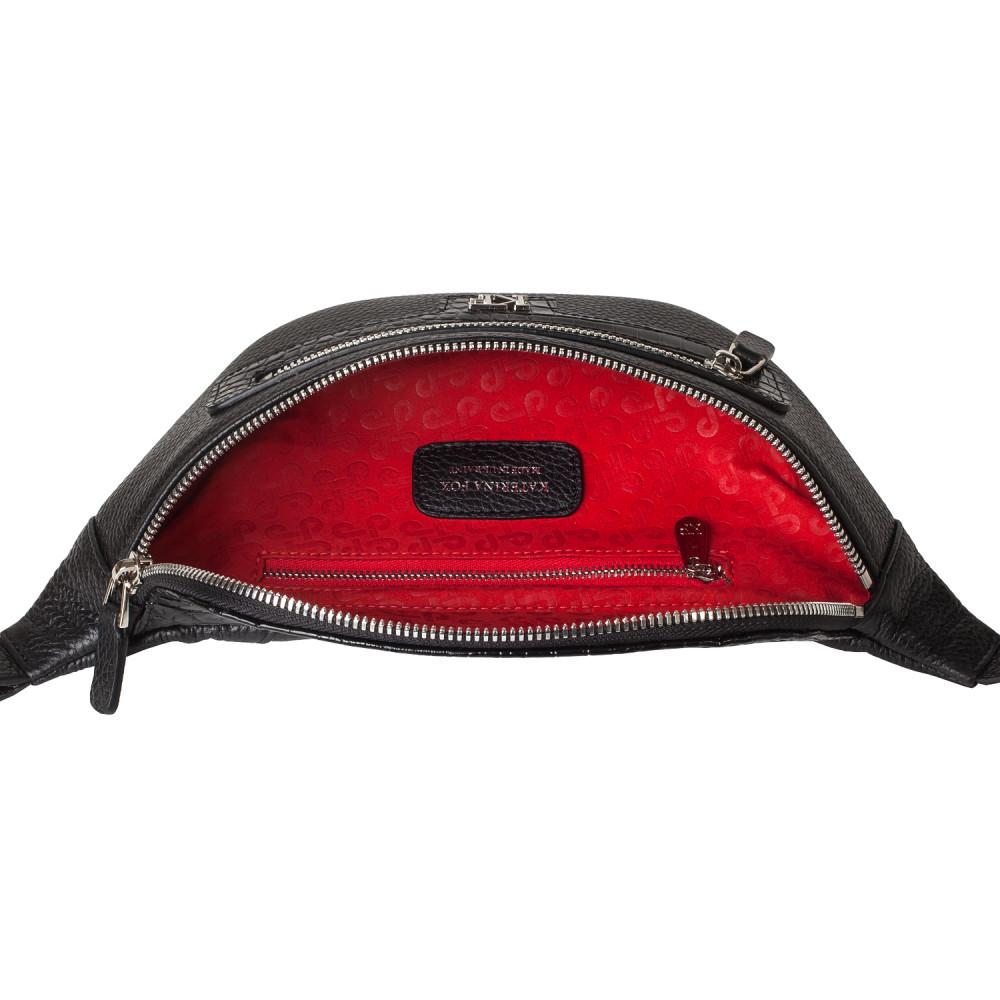 Жіноча шкіряна сумка на пояс Bananka KF-3758-4