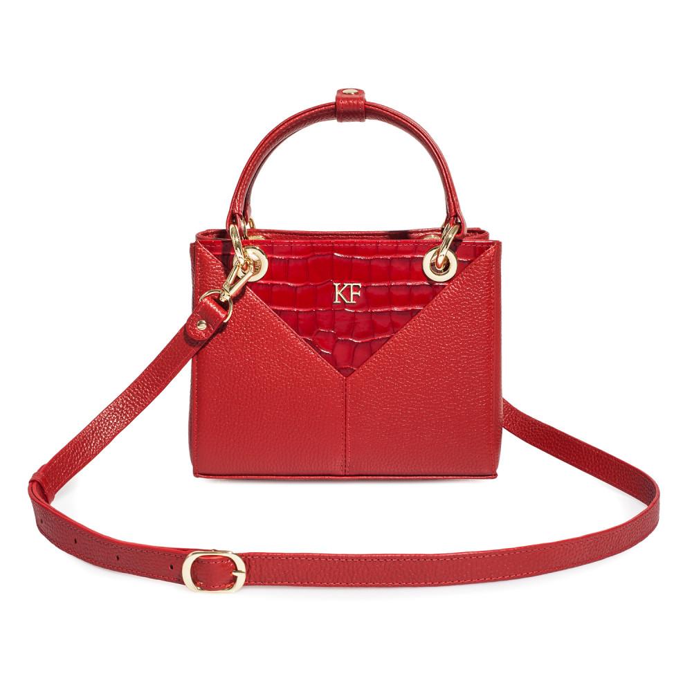 Жіноча шкіряна сумка Vera S KF-3770