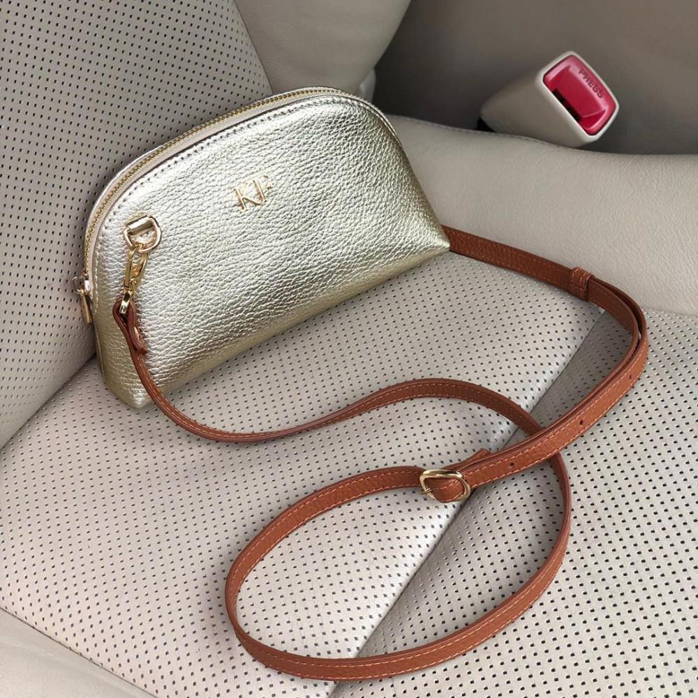 Жіноча шкіряна міні-сумочка  Ksusha KF-3785