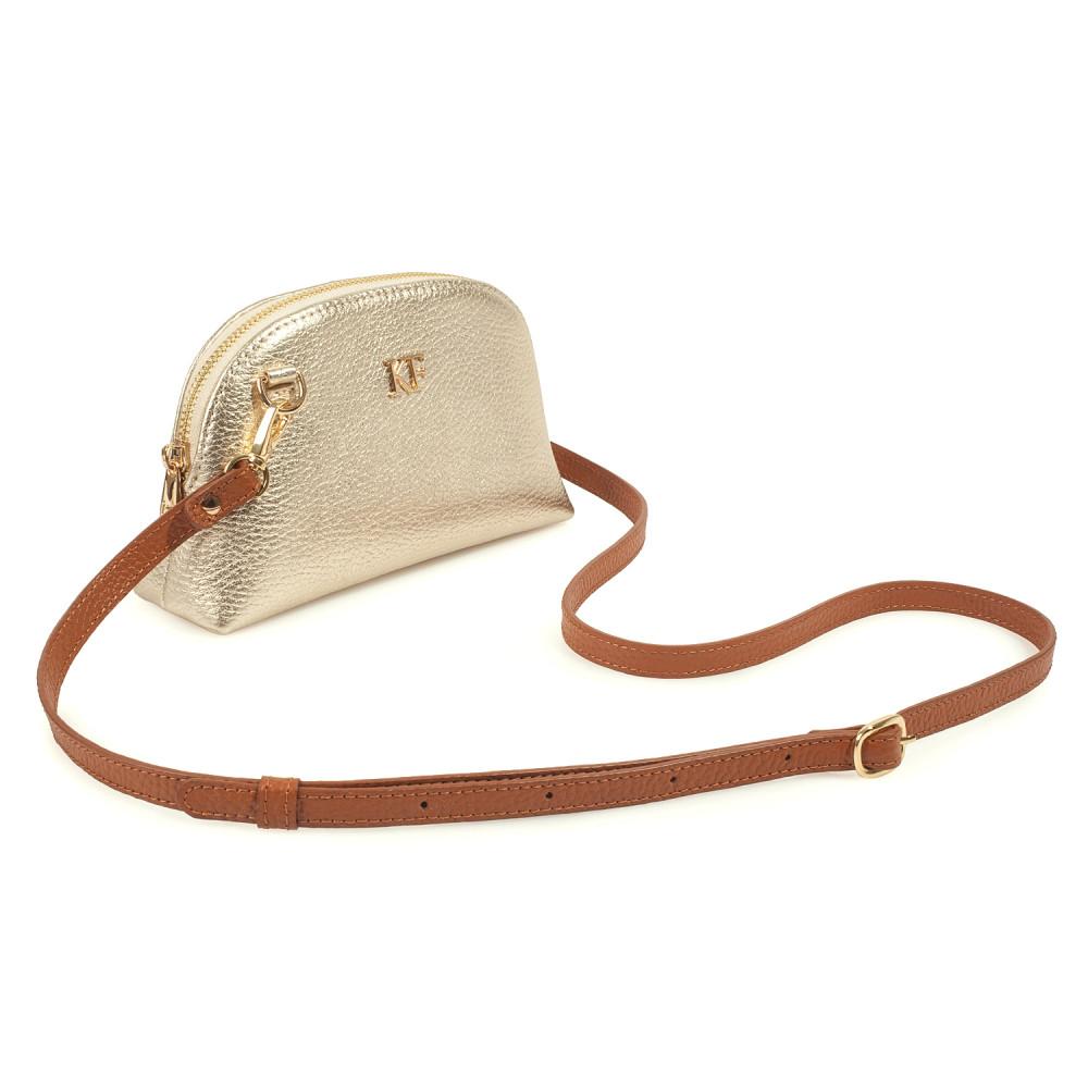Жіноча шкіряна міні-сумочка  Ksusha KF-3785-1