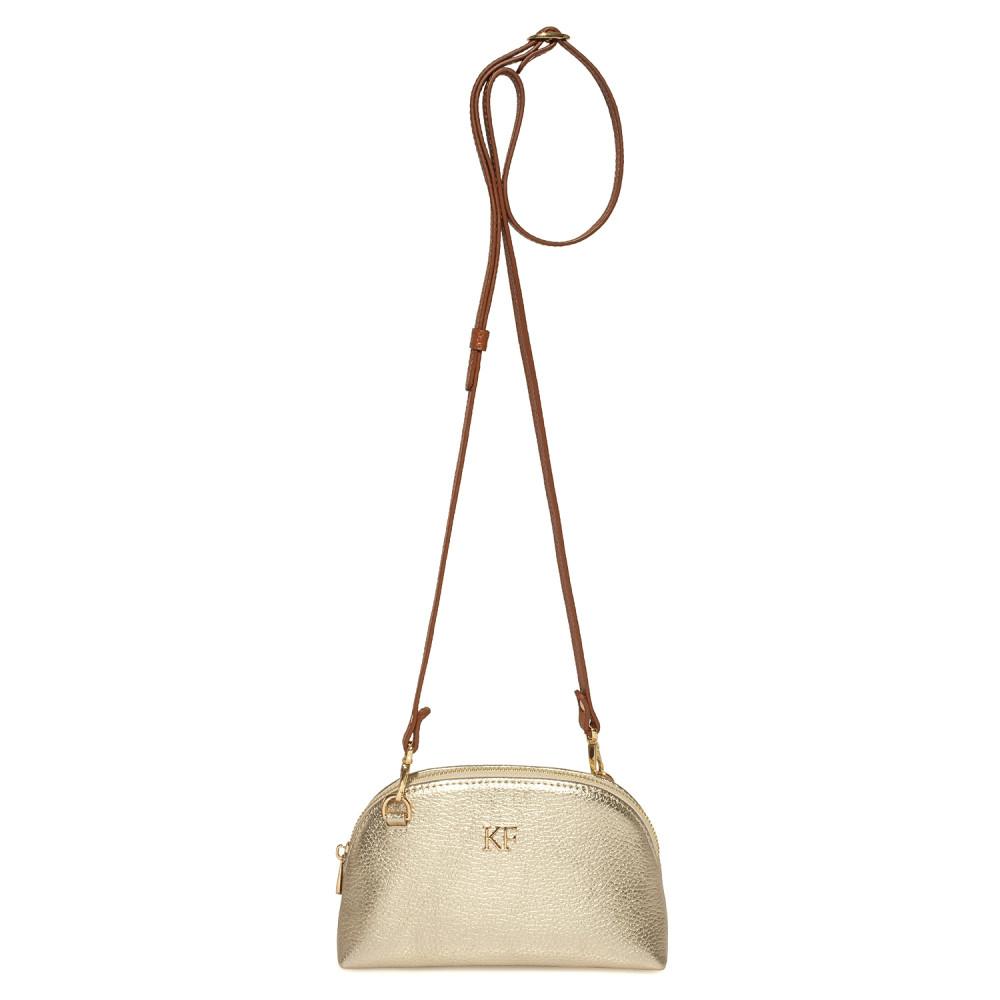 Жіноча шкіряна міні-сумочка  Ksusha KF-3785-2