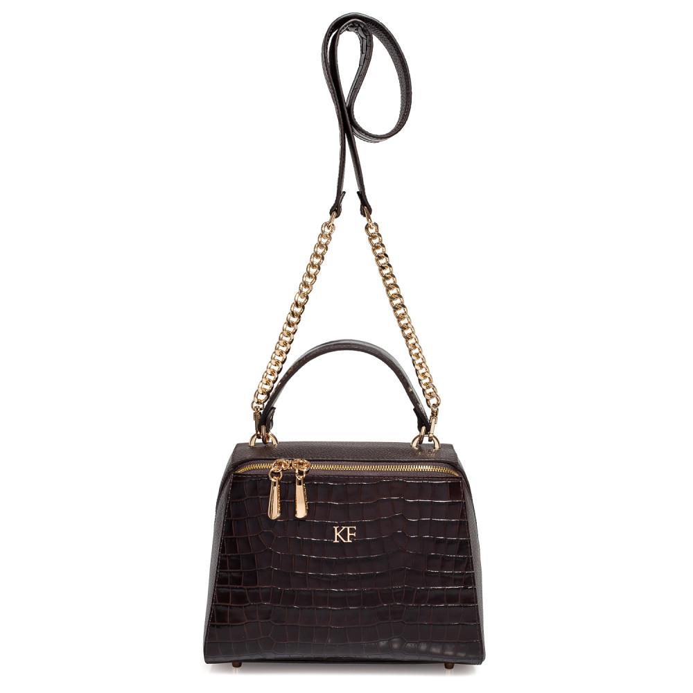 Жіноча шкіряна сумка Elegance KF-3792-2