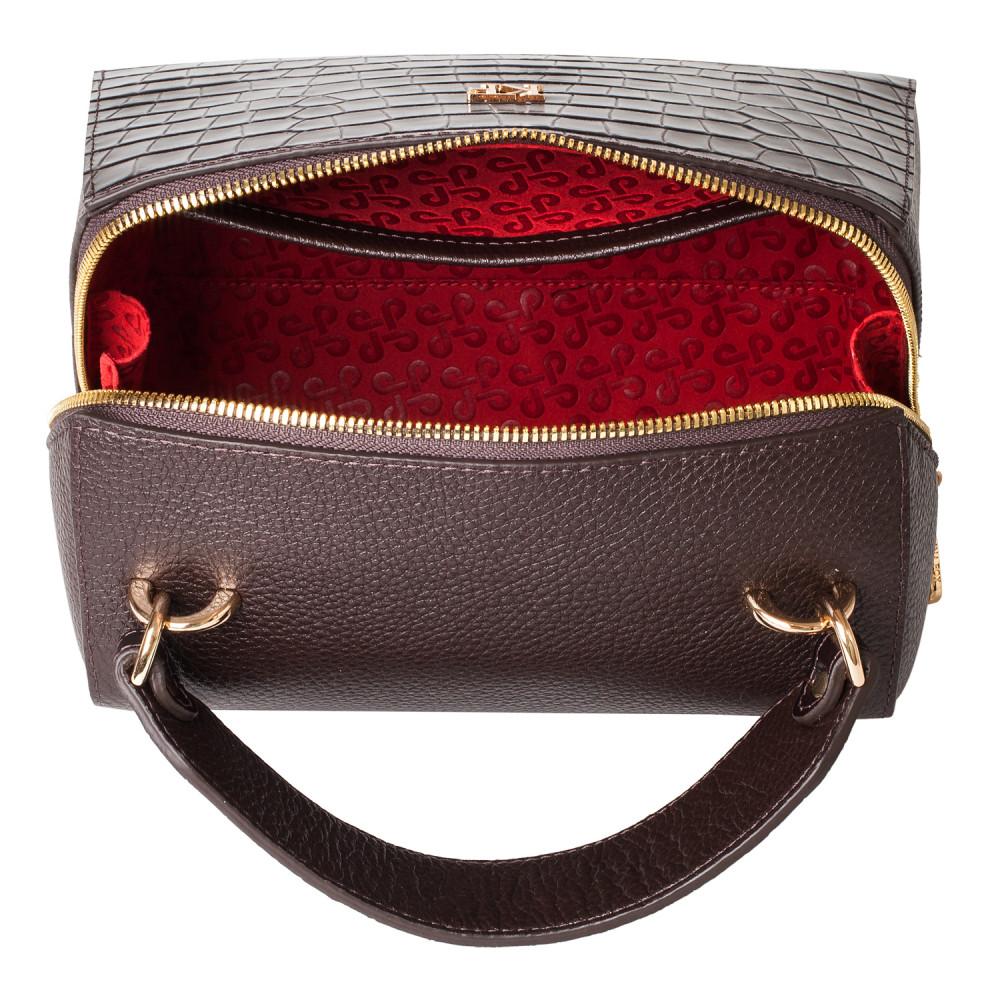 Жіноча шкіряна сумка Elegance KF-3792-4