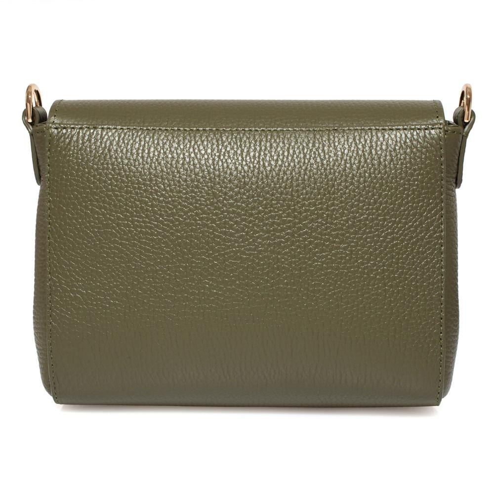 Жіноча шкіряна сумка кросс-боді на широкому ремені Prima Ann KF-3810-3