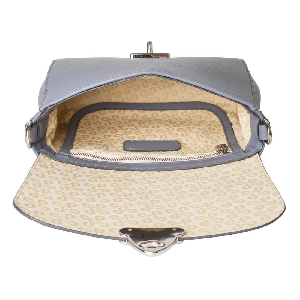 Жіноча шкіряна сумка кросс-боді на широкому ремені Prima Ann KF-3813-4
