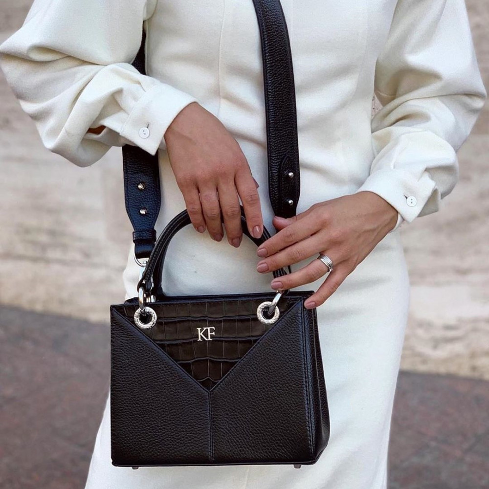 Жіноча шкіряна сумка Vera S KF-3823-7