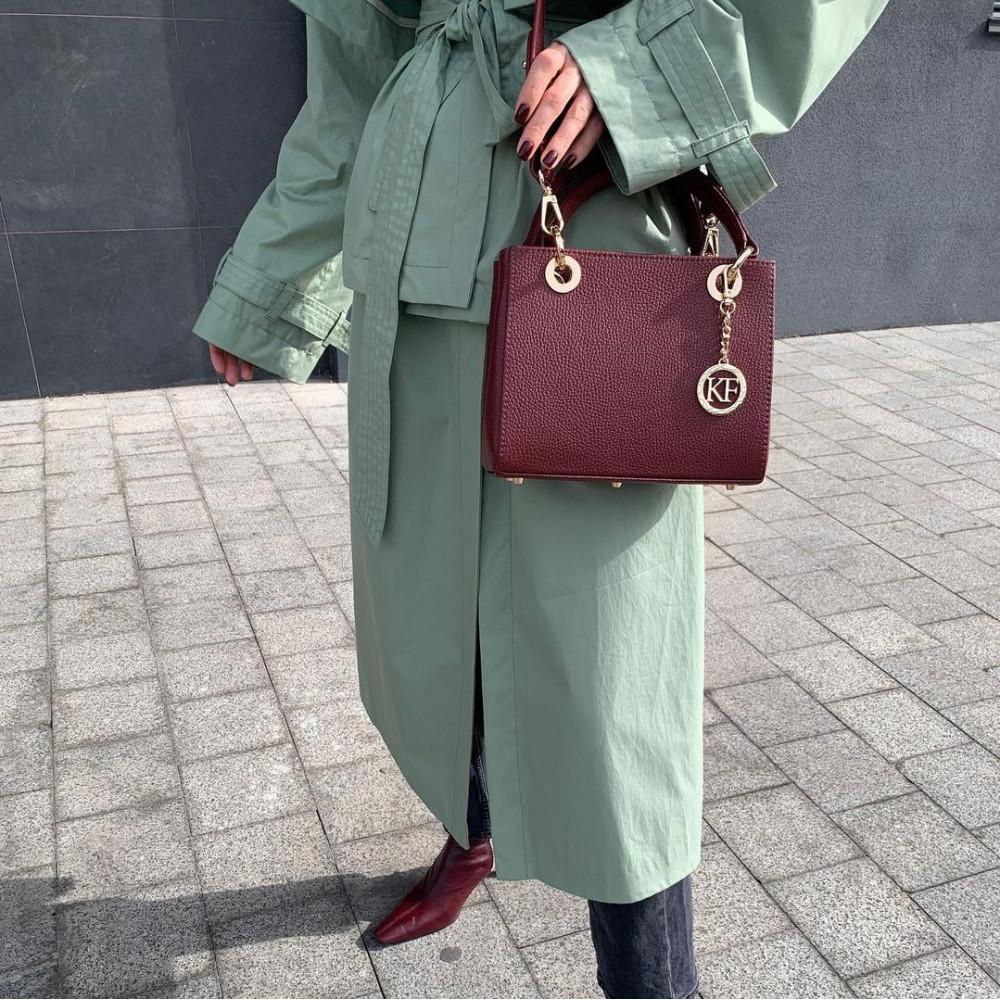 Жіноча шкіряна сумка Vera S KF-3826-9