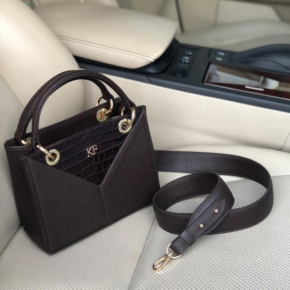 Жіноча шкіряна сумка Vera S KF-3828