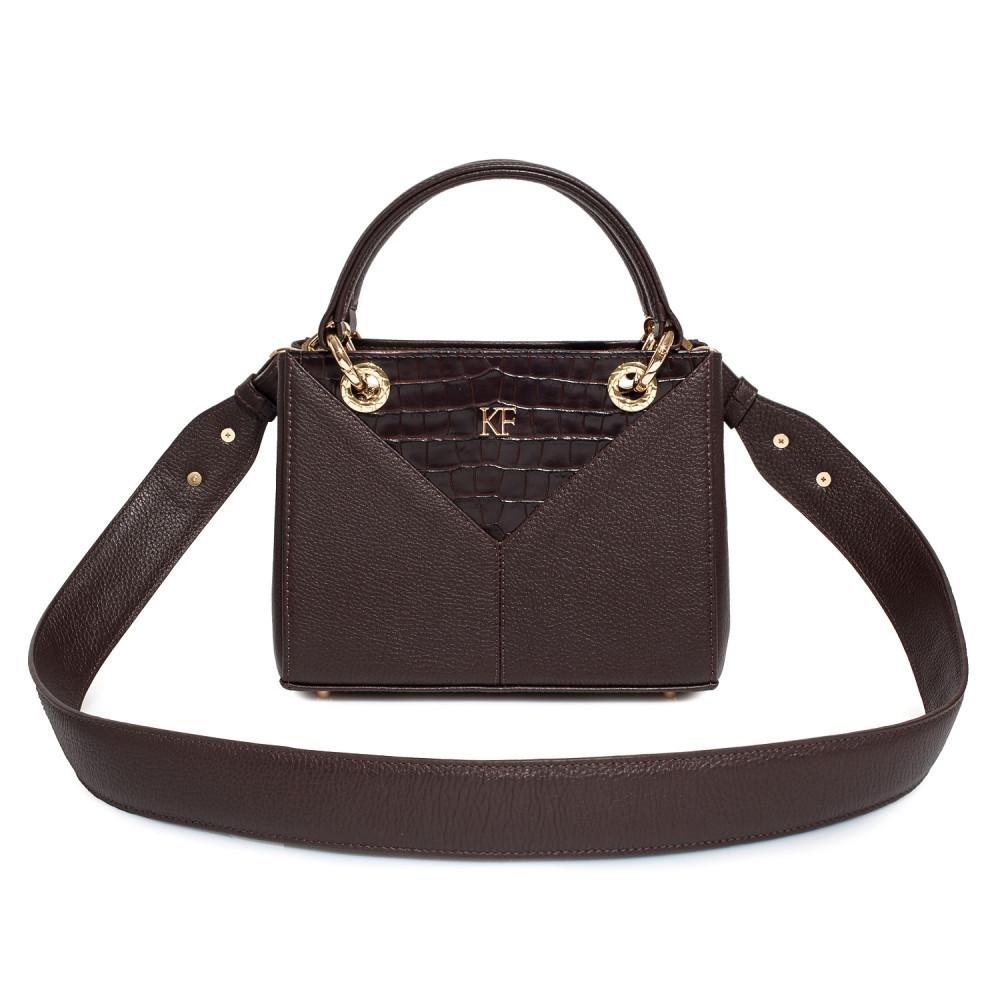 Жіноча шкіряна сумка Vera S KF-3828-1