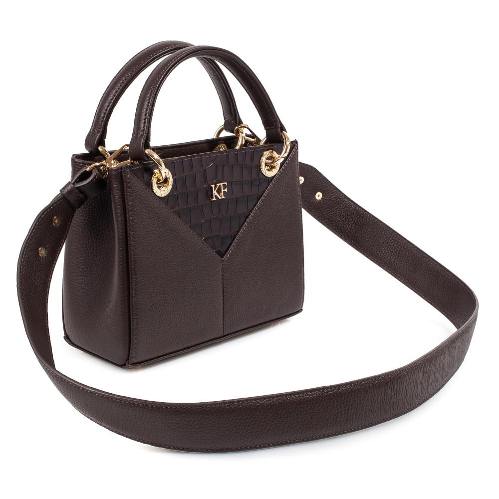 Жіноча шкіряна сумка Vera S KF-3828-2