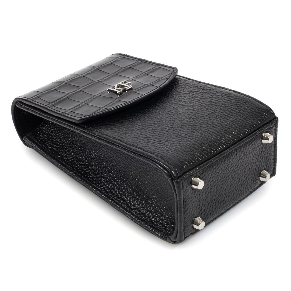 Жіноча шкіряна вертикальна сумка кросс-боді Naomi KF-3836-4