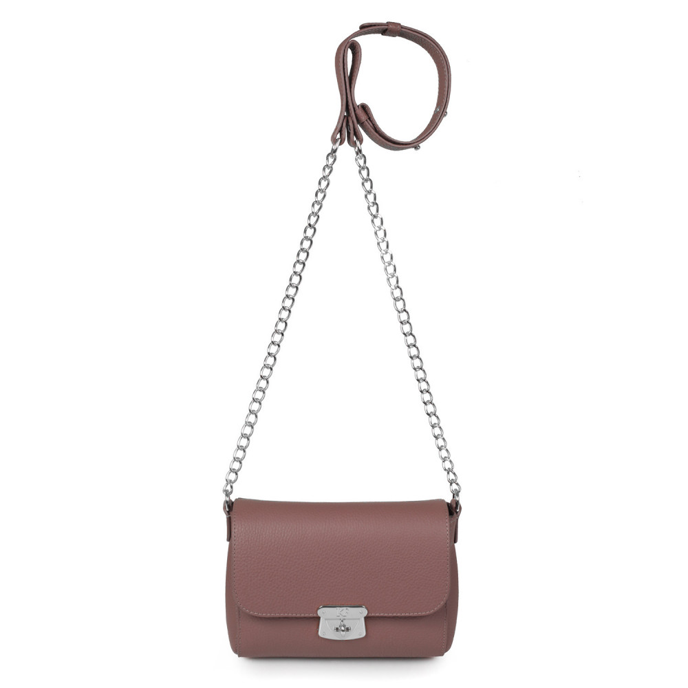 Women's leather bag on a chain Prima S KF-386-2