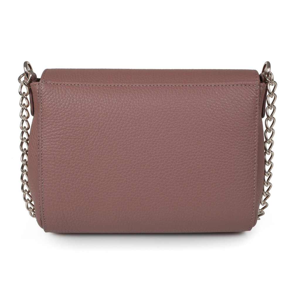 Women's leather bag on a chain Prima S KF-386-3