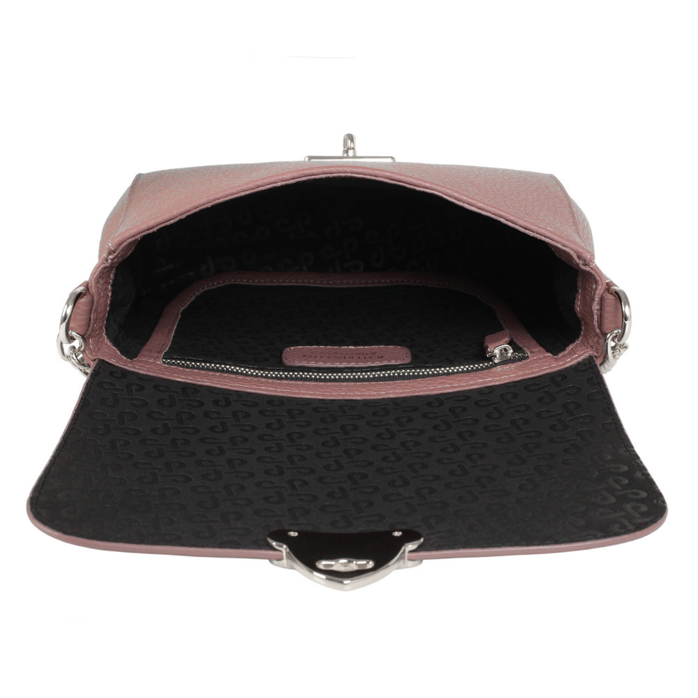 Women's leather bag on a chain Prima S KF-386-4
