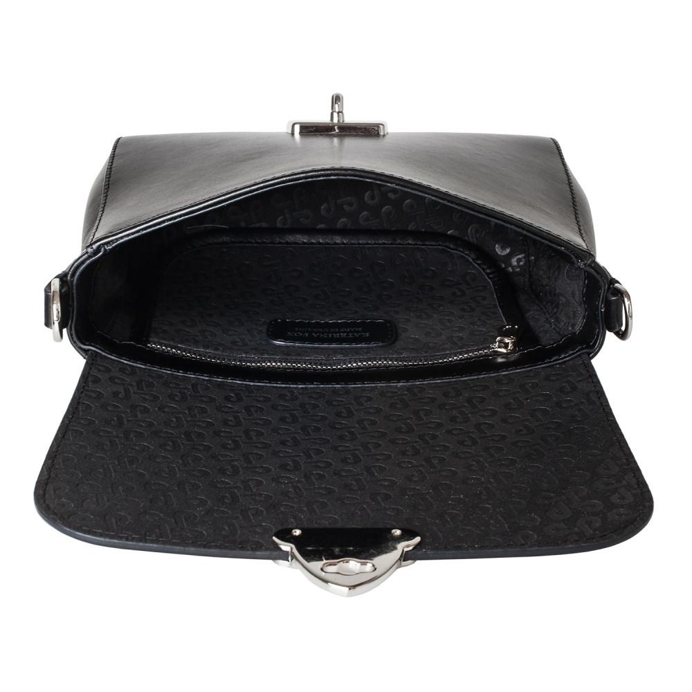 Жіноча шкіряна сумка кросс-боді на широкому ремені Prima Ann KF-3865-4