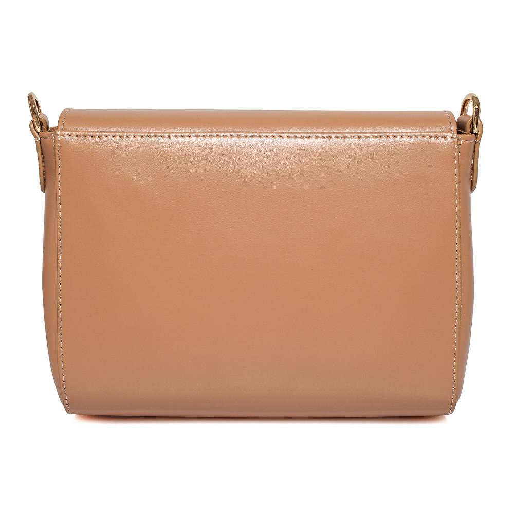 Жіноча шкіряна сумка кросс-боді на широкому ремені Prima S KF-3870-3