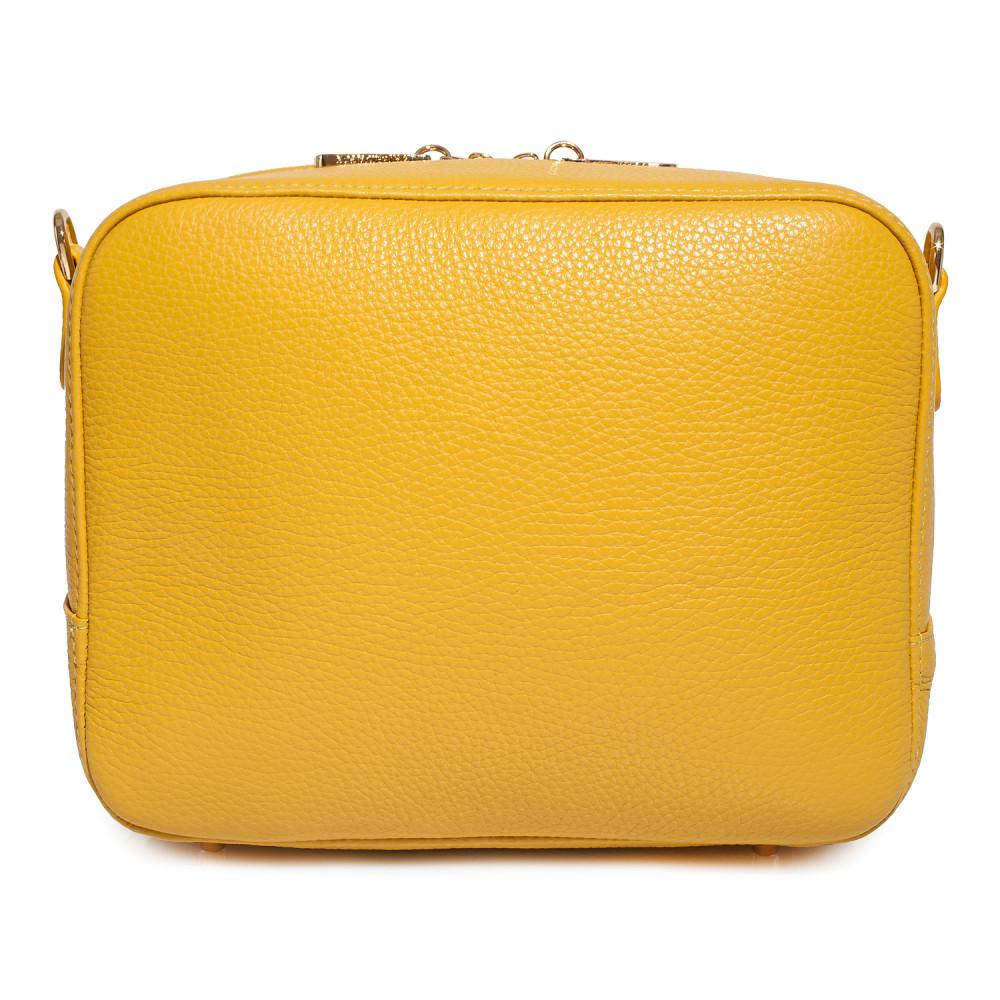 Жіноча шкіряна сумка кросс-боді на широкому ремені Tatiana M KF-3874-4
