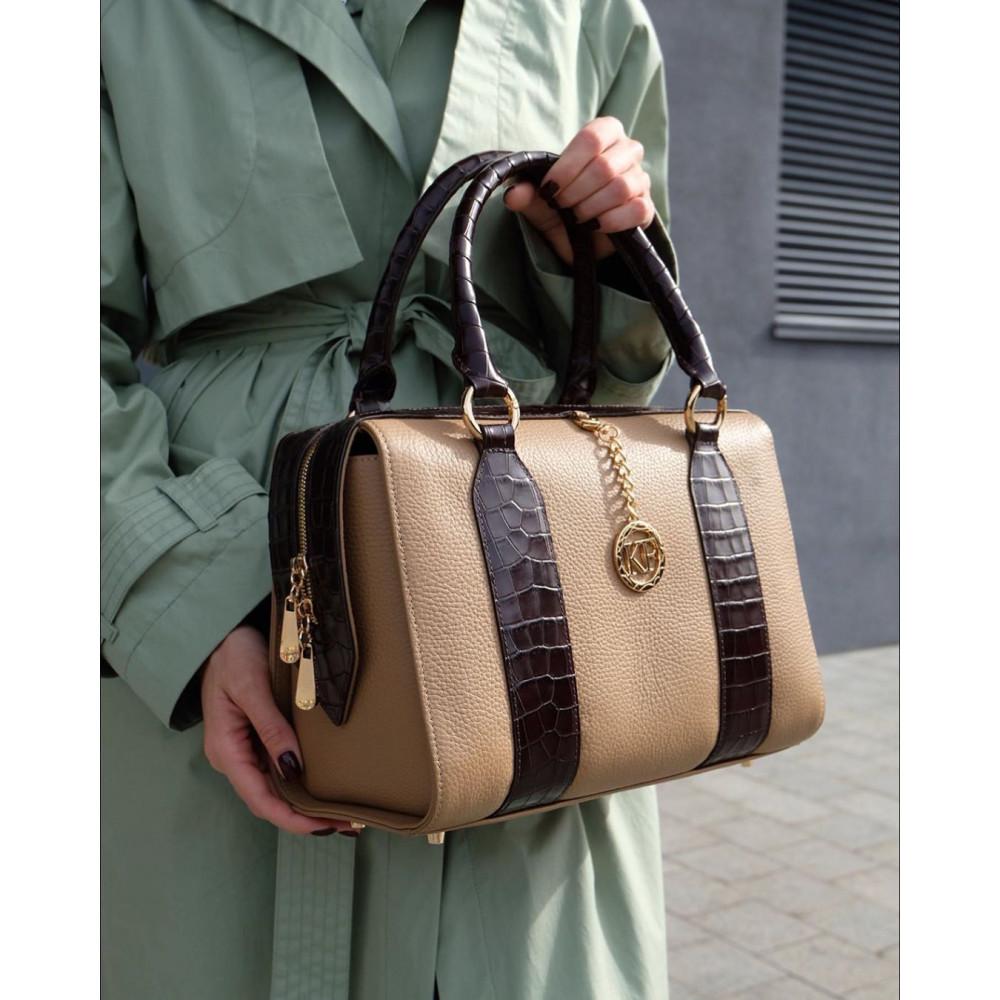 Women's leather bag Olga KF-3897
