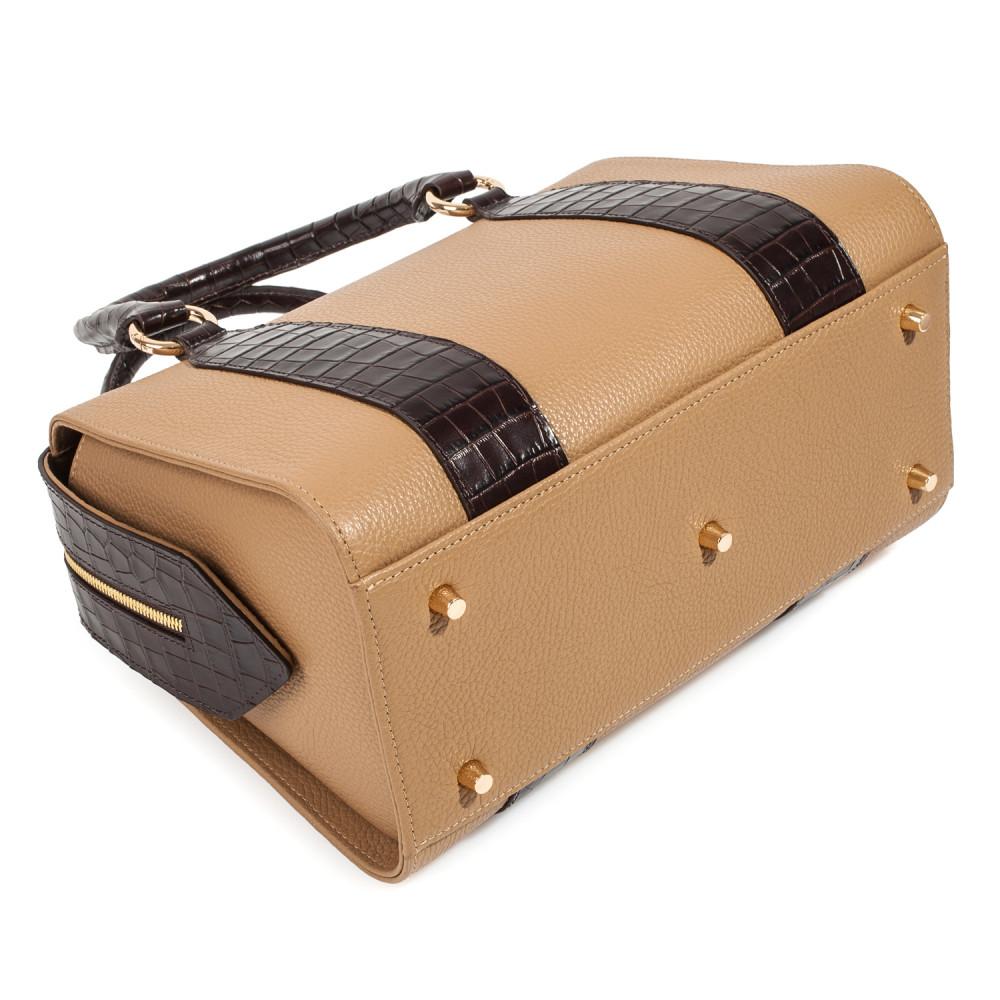 Жіноча шкіряна сумка Olga KF-3897-4