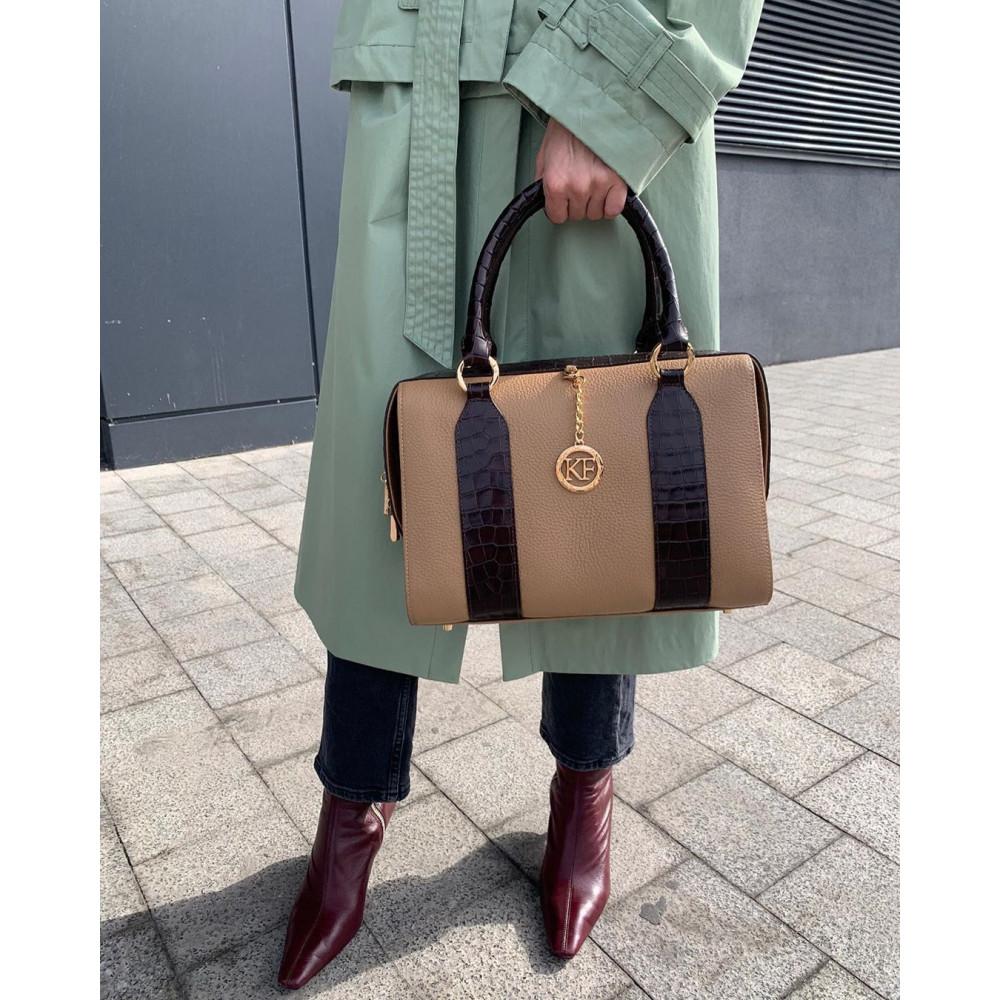 Жіноча шкіряна сумка Olga KF-3897-7