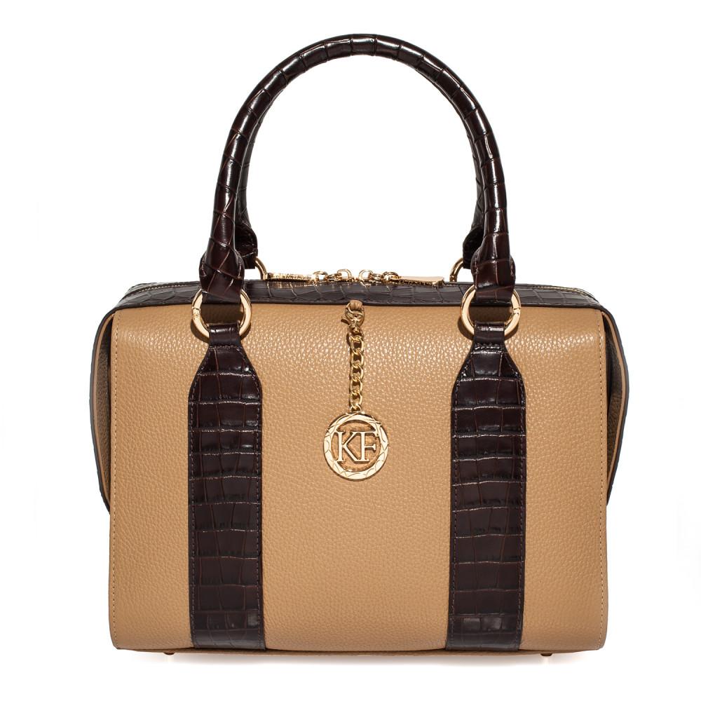 Жіноча шкіряна сумка Olga KF-3897