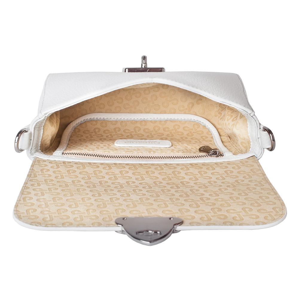 Жіноча шкіряна сумка кросс-боді на широкому ремені Prima S KF-3911-4