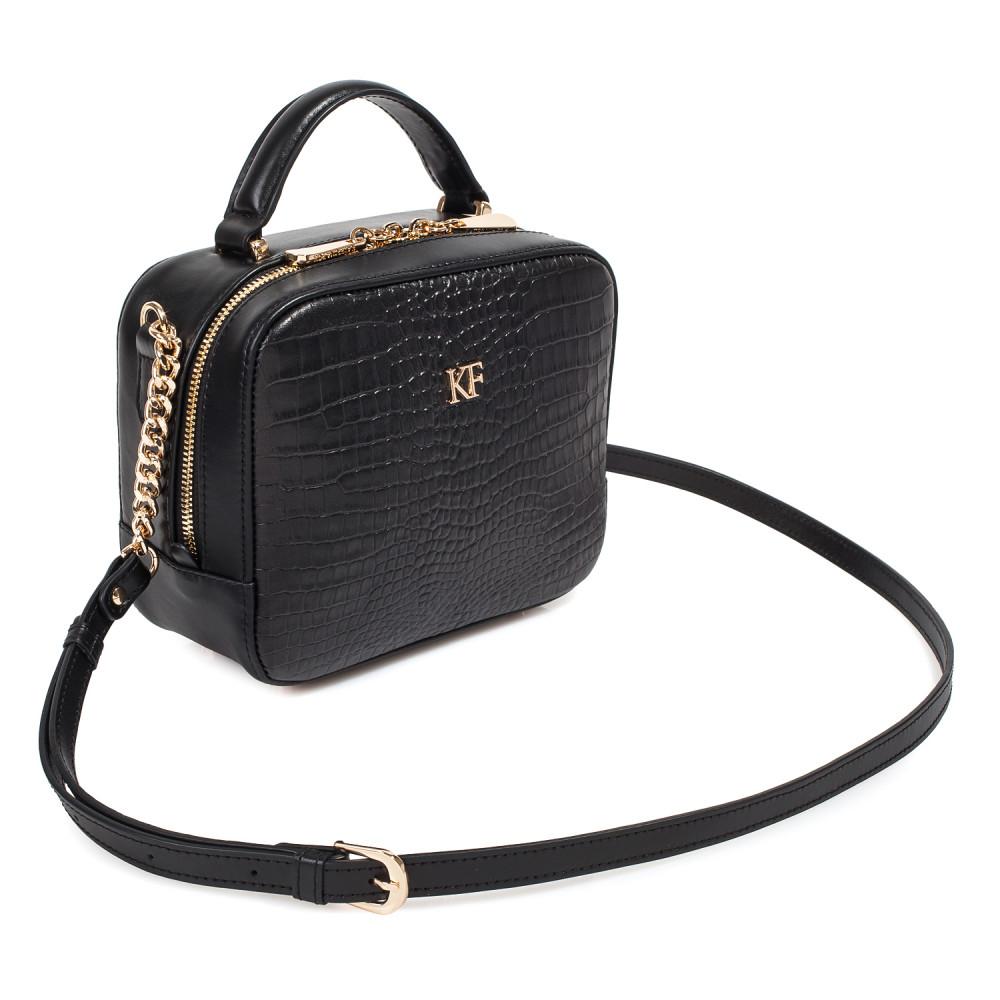 Жіноча шкіряна сумка кросс-боді Casey KF-3920-2