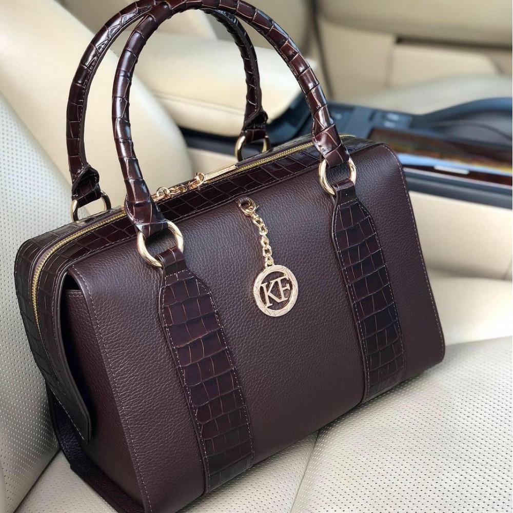 Жіноча шкіряна сумка Olga KF-3938