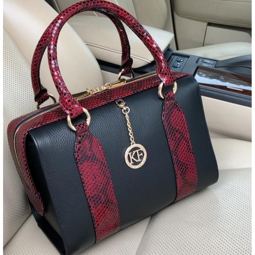 Жіноча шкіряна сумка Olga KF-3939