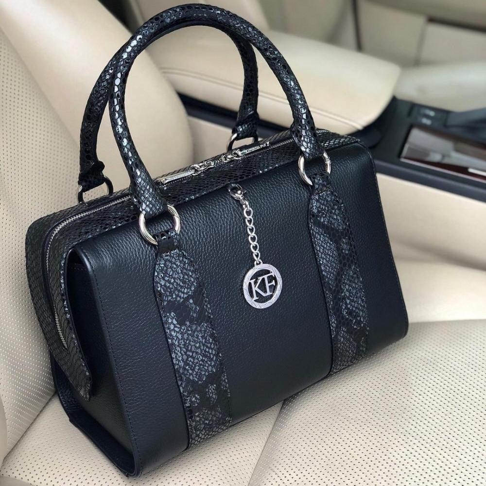 Жіноча шкіряна сумка Olga KF-3940