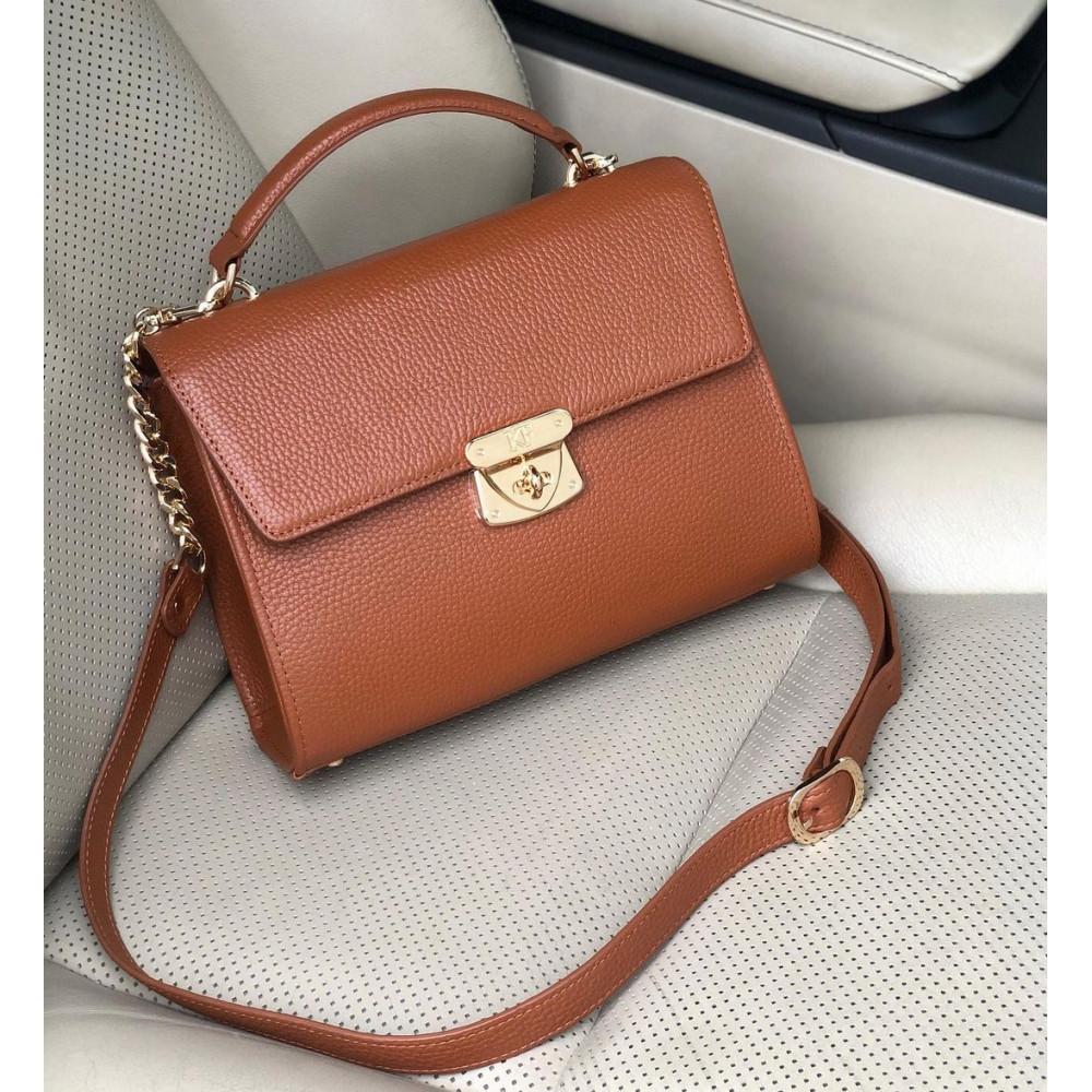 Жіночий шкіряний портфель Alice KF-3950