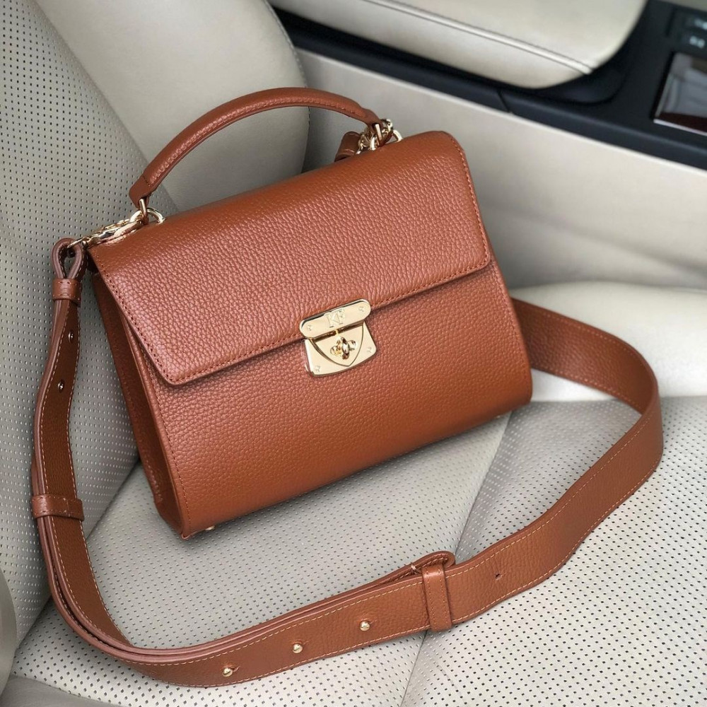 Women's leather briefcase Alice KF-3967