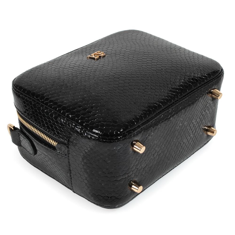 Жіноча шкіряна сумка кросс-боді на широкому ремені Tatiana KF-3974-4