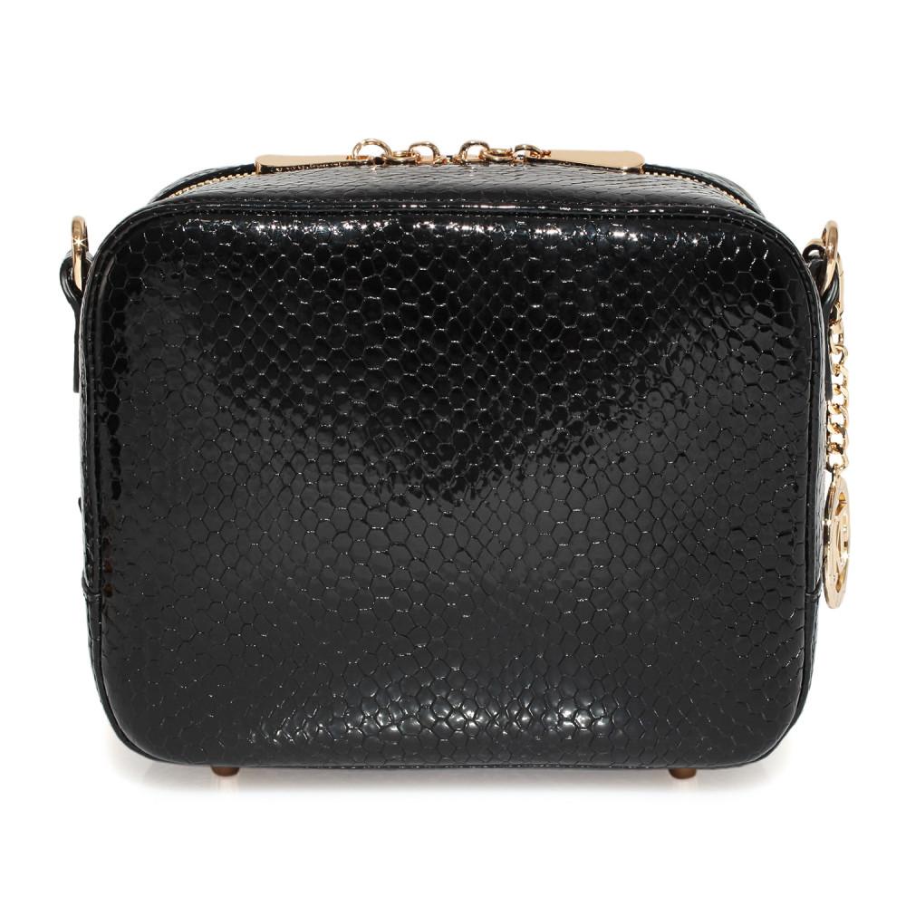 Жіноча шкіряна сумка кросс-боді на широкому ремені Tatiana KF-3974-5