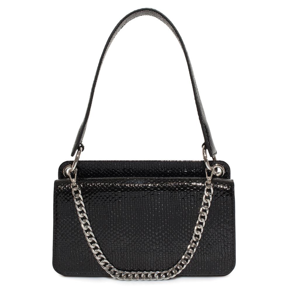 Жіноча шкіряна сумка-багет Baguette KF-4024-