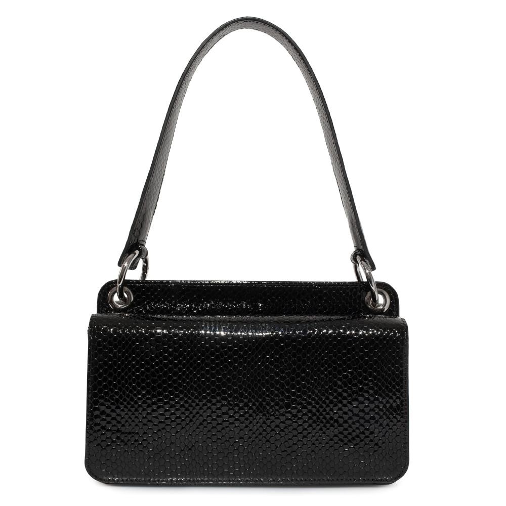 Жіноча шкіряна сумка-багет Baguette KF-4024-3