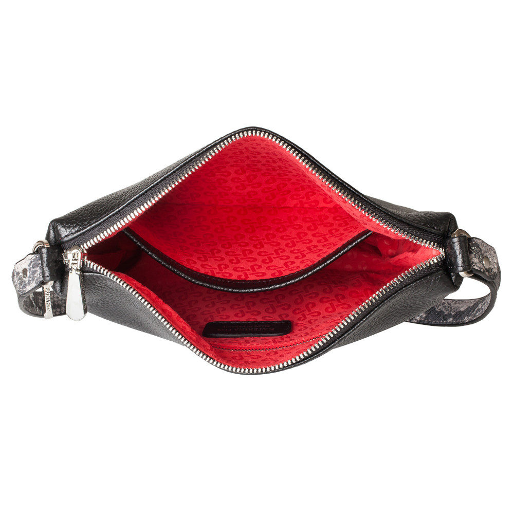Жіноча шкіряна сумка кросс-боді Mia KF-4039-3
