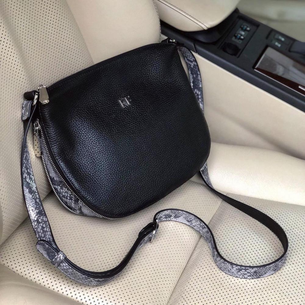 Жіноча шкіряна сумка кросс-боді Mia KF-4039