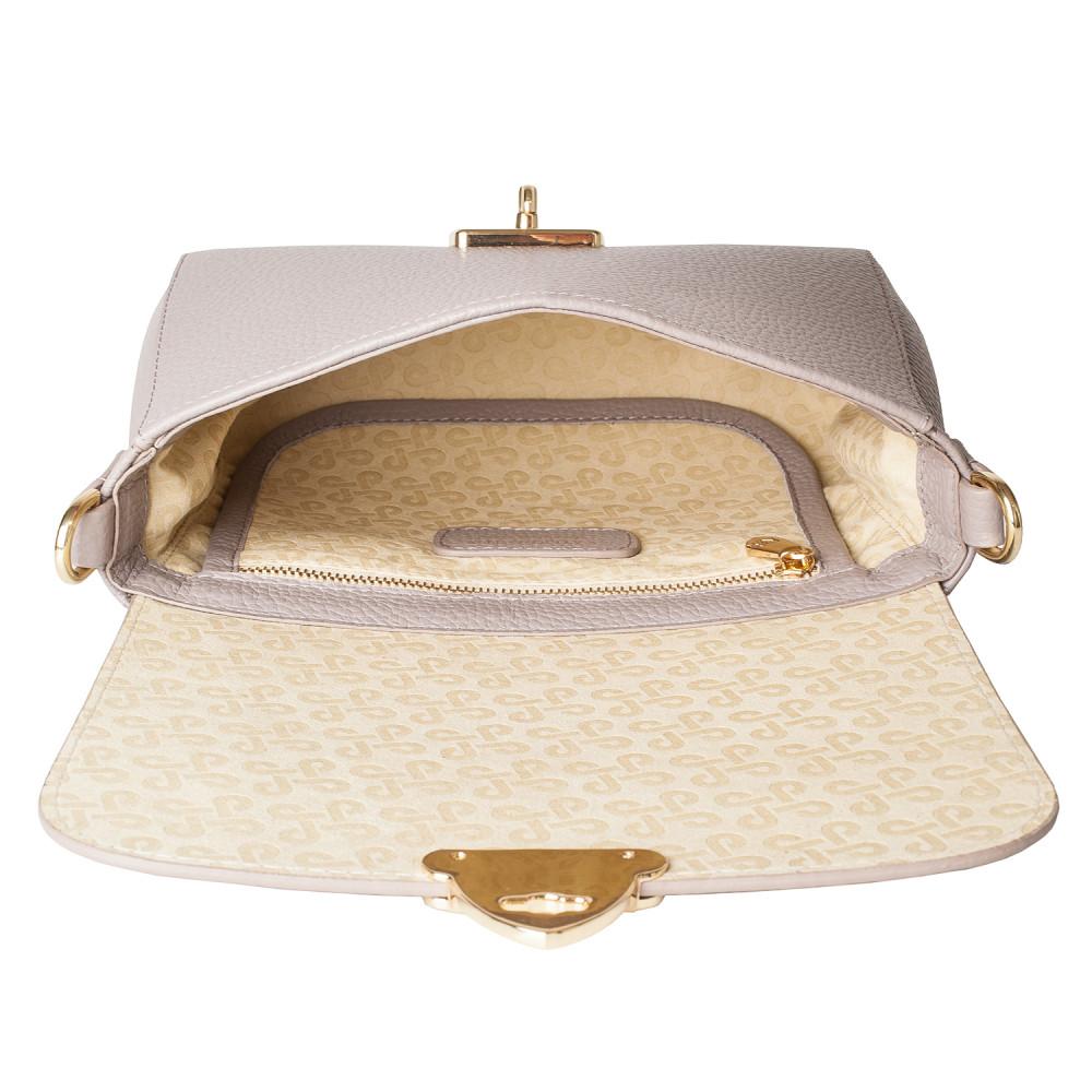 Жіноча шкіряна сумка кросс-боді на широкому ремені Prima S KF-4052-3