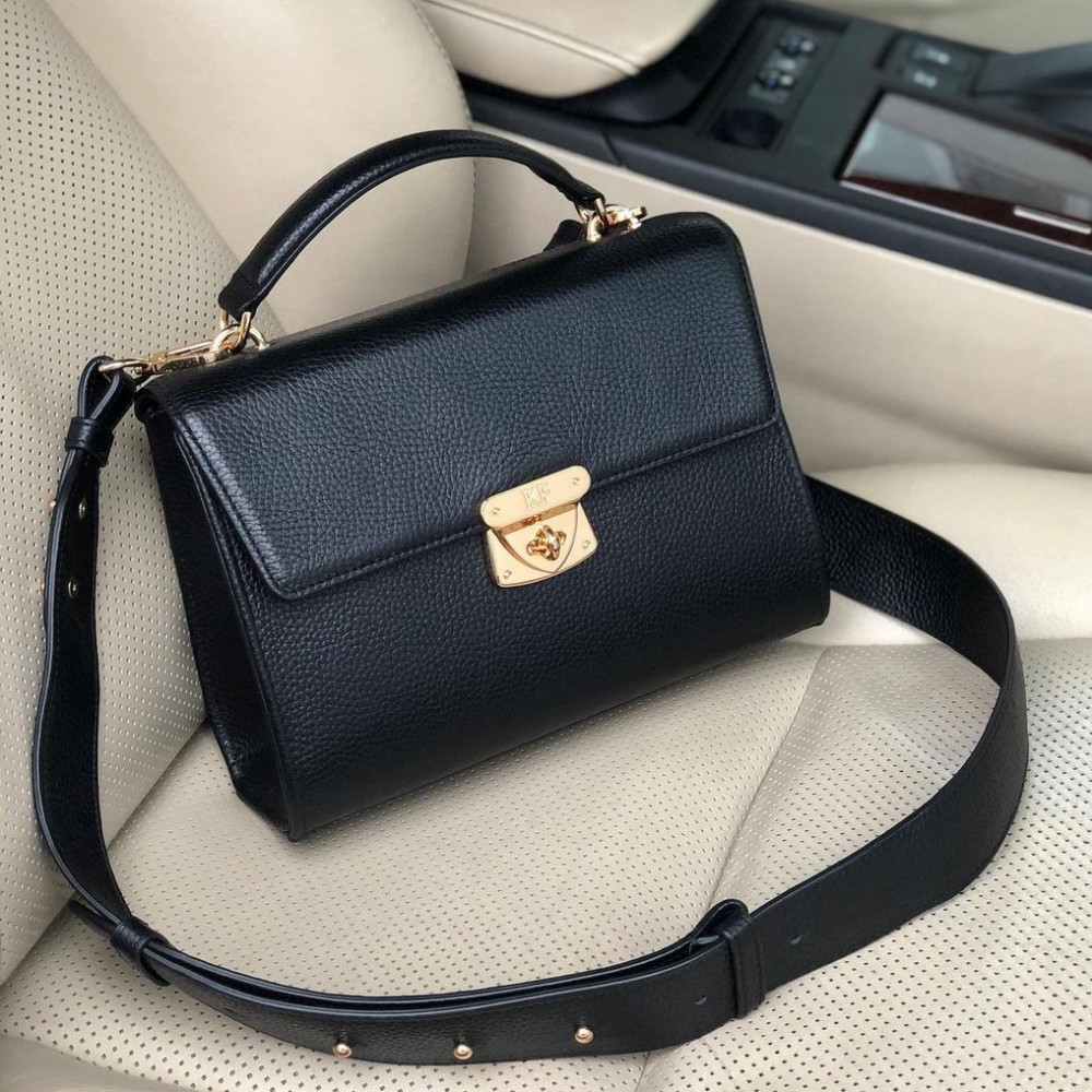 Women's leather briefcase Alice KF-4059