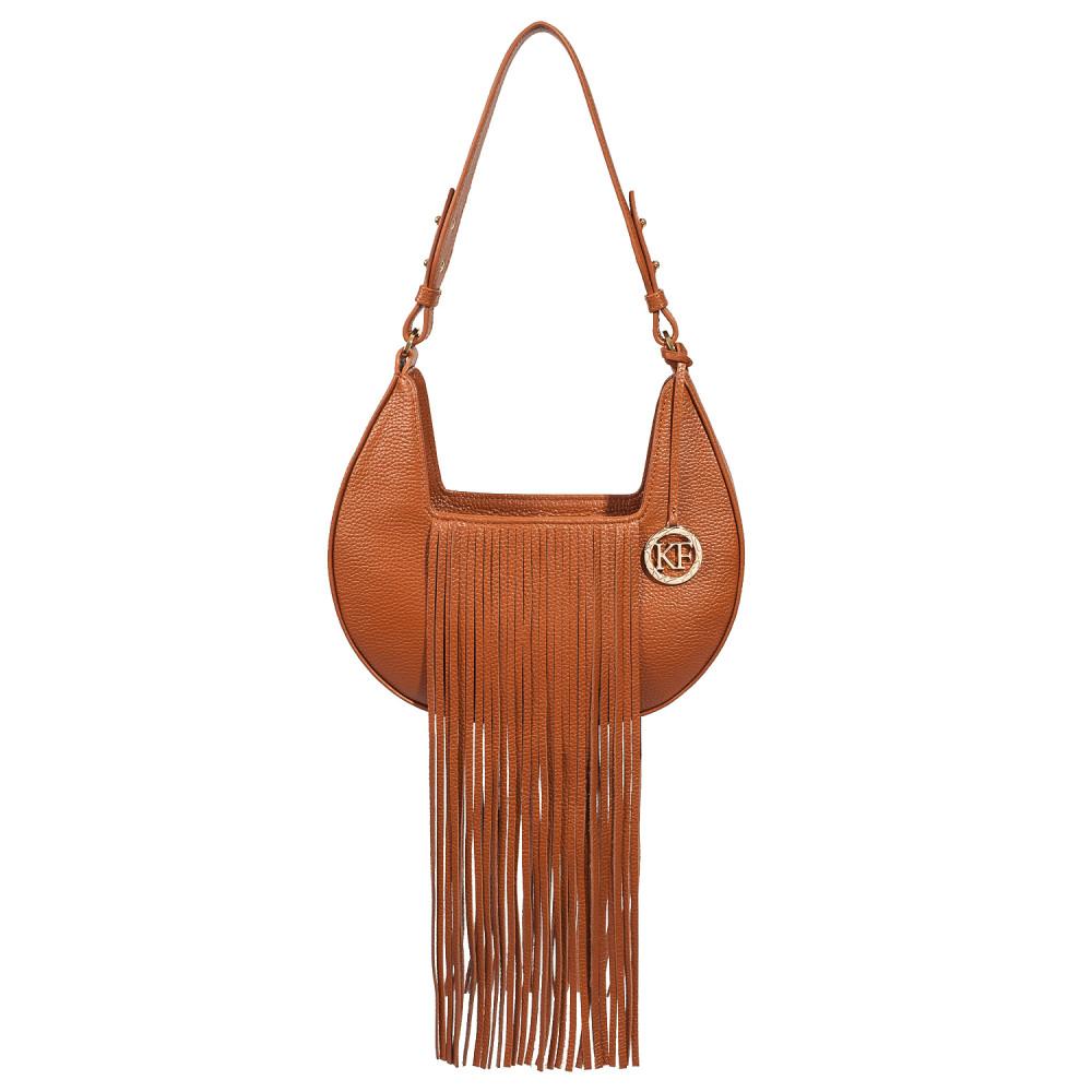 Жіноча шкіряна сумка Moonlight KF-4097