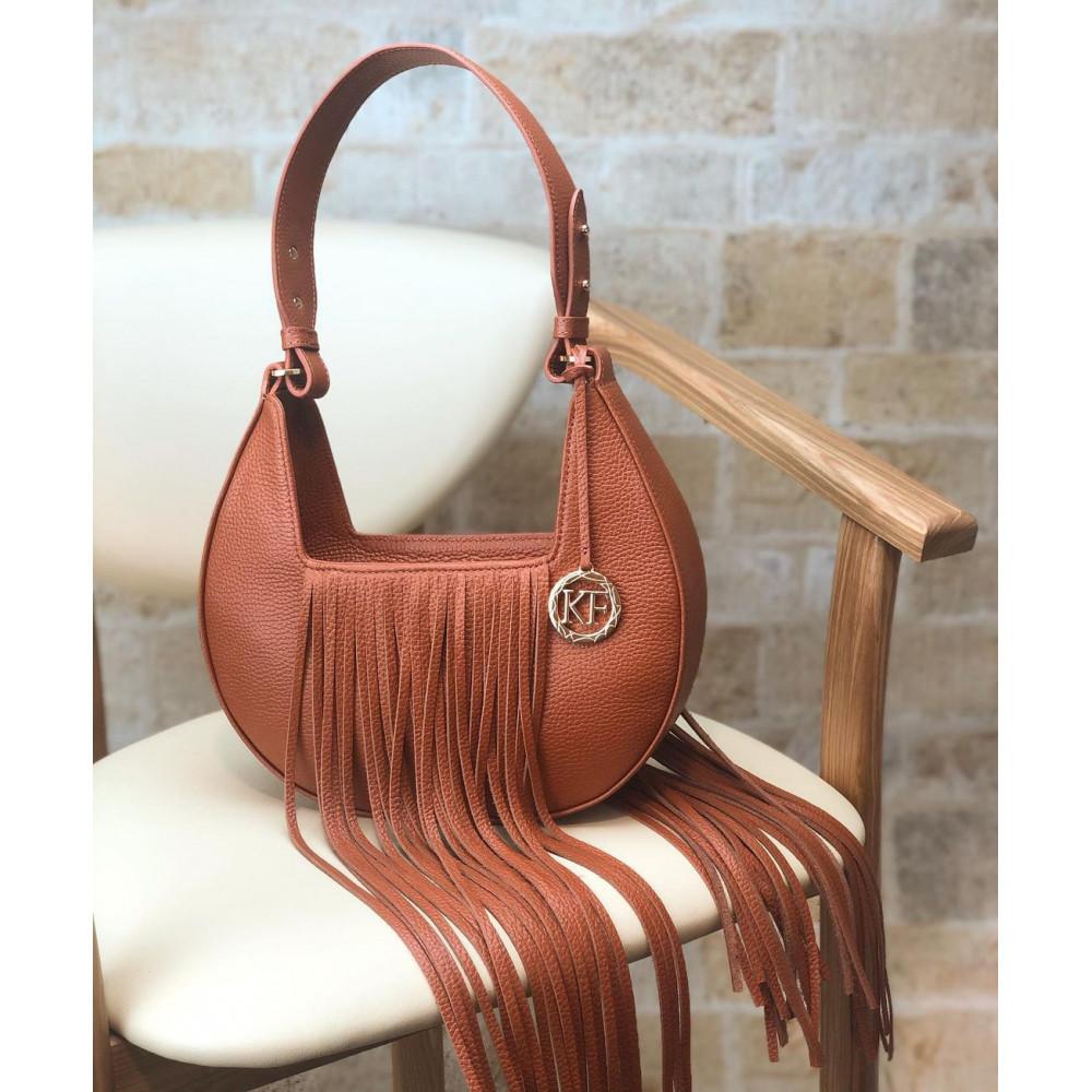 Women's leather bag Moonlight KF-4097