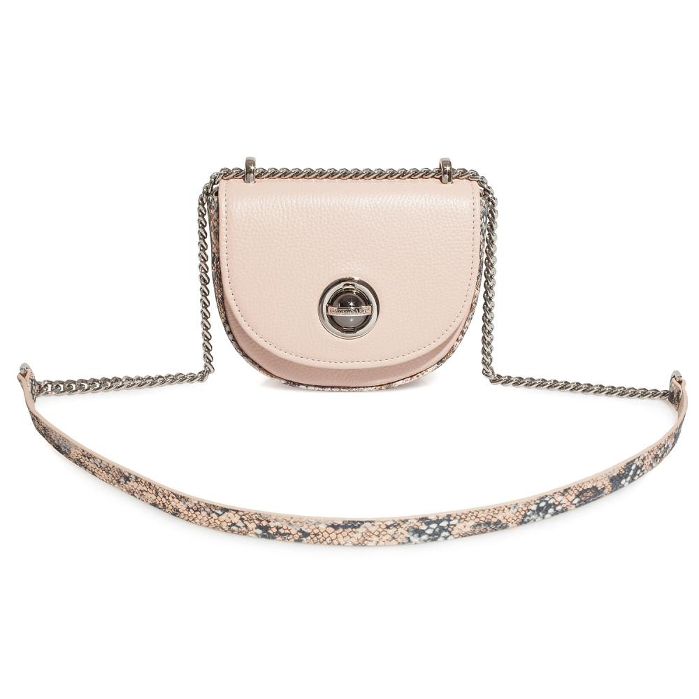 Жіноча шкіряна сумка на ланцюжку Milena KF-4117