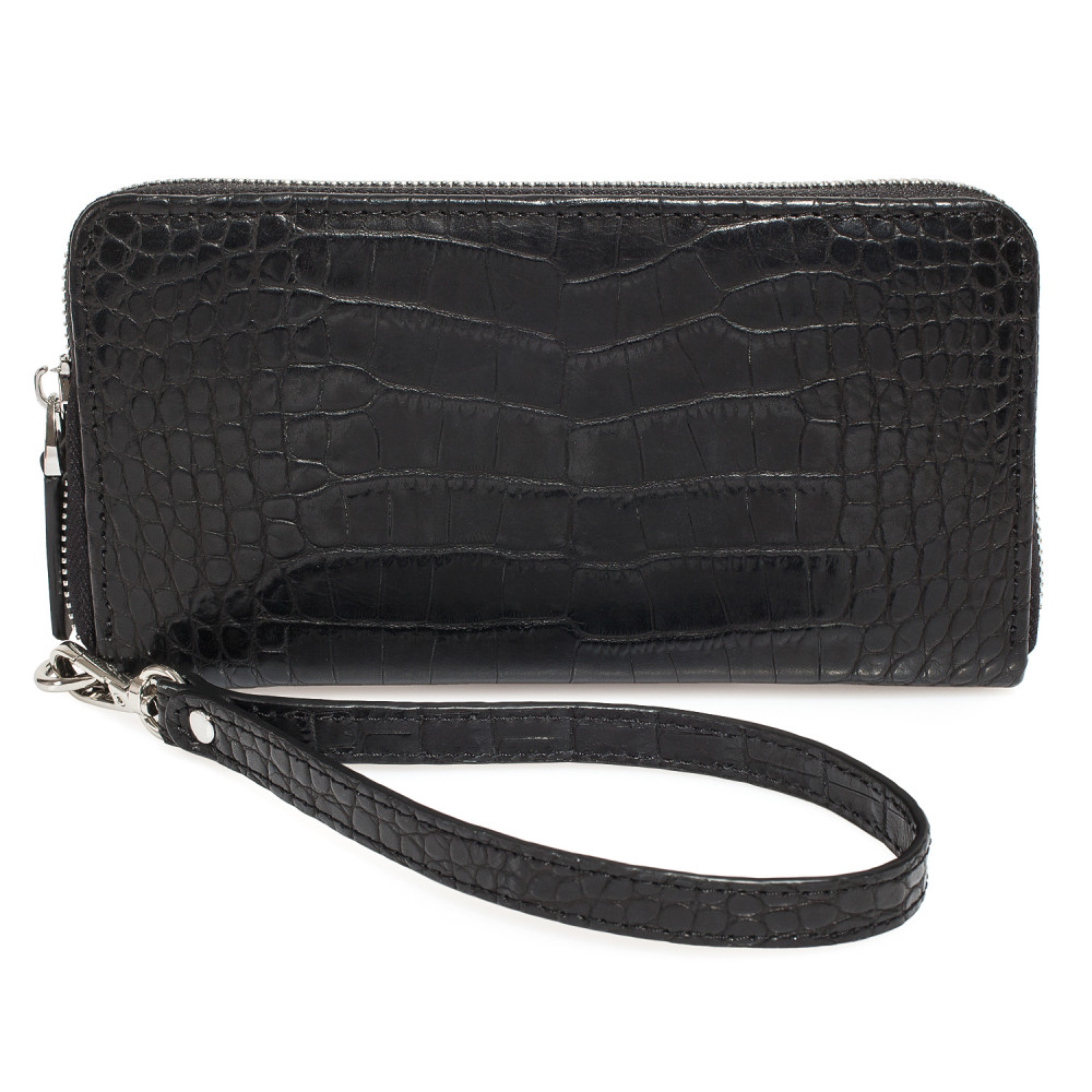 Men's leather wallet Classic KF-4130