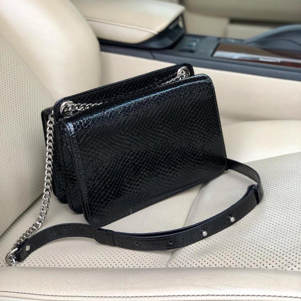 Жіноча шкіряна сумка на ланцюжку Elvira KF-4139