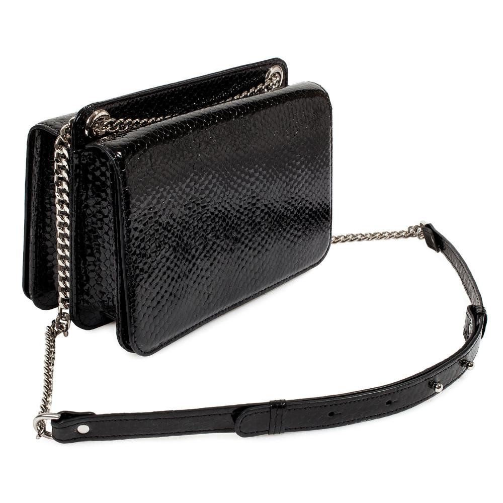 Жіноча шкіряна сумка на ланцюжку Elvira KF-4139-1