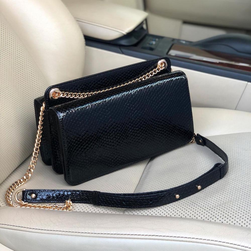 Жіноча шкіряна сумка на ланцюжку Elvira M KF-4156