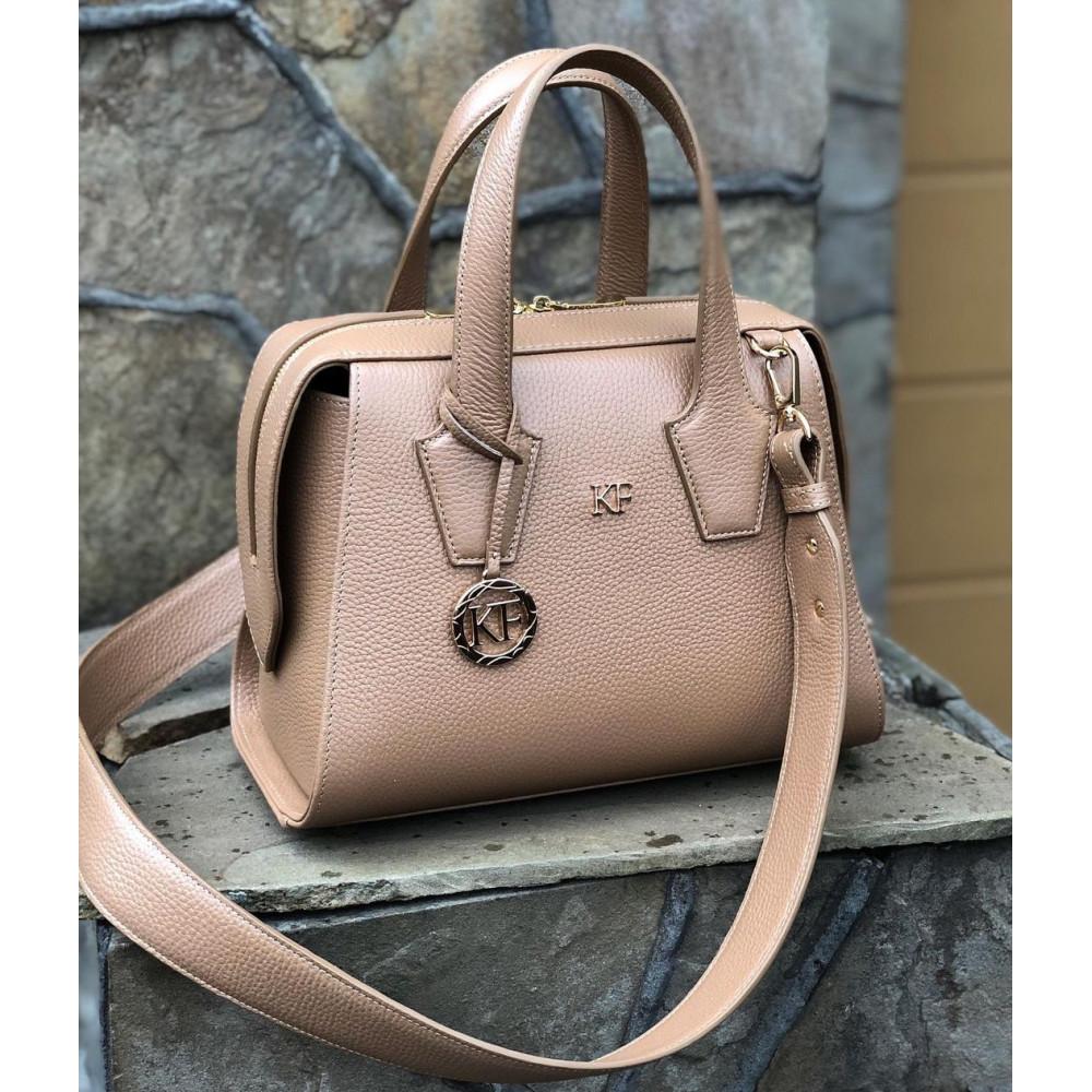 Жіноча шкіряна сумка Inga KF-4204